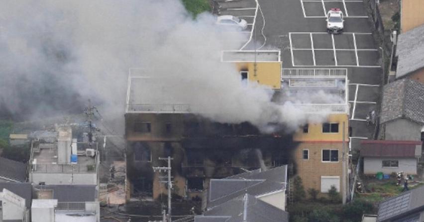 kyoto animation studio fire leaves dozens injured