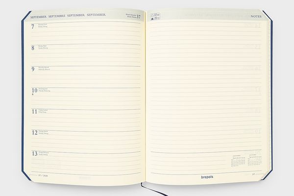 Brepols Back to Paper 2020 Diary Notebook