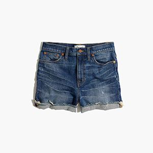 Glenoaks Wash High-Rise Shorts