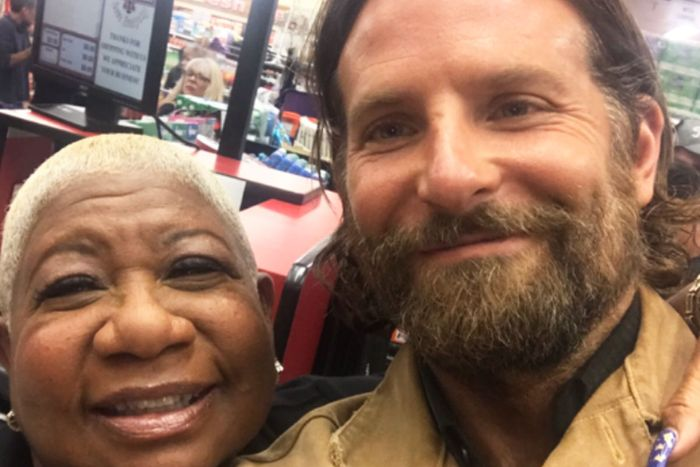 Bradley Cooper and Luenell from a