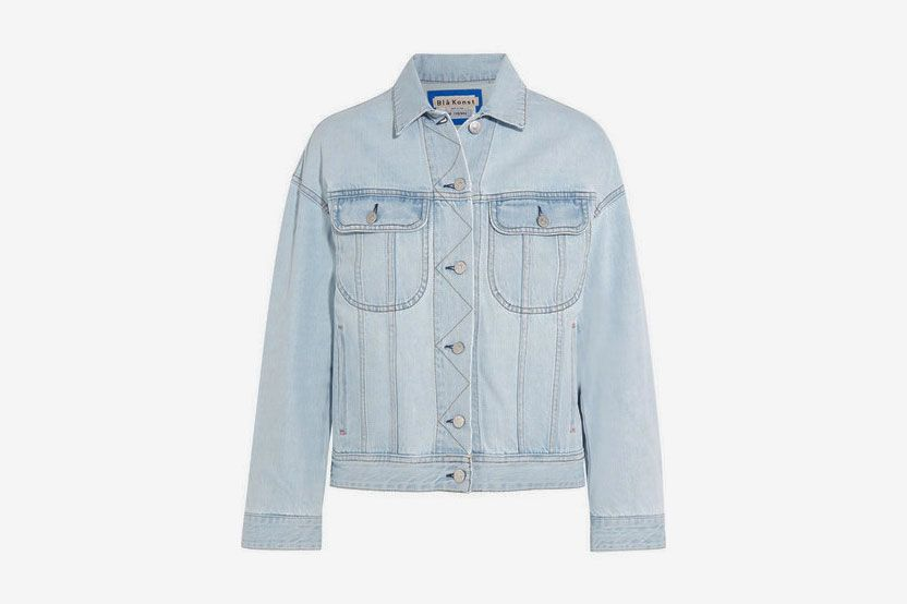Lamp Oversized Denim Jacket