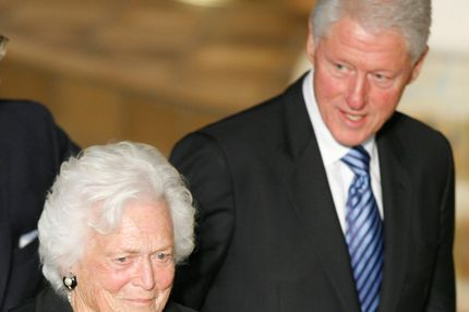 Former first lady Barbara Bush.