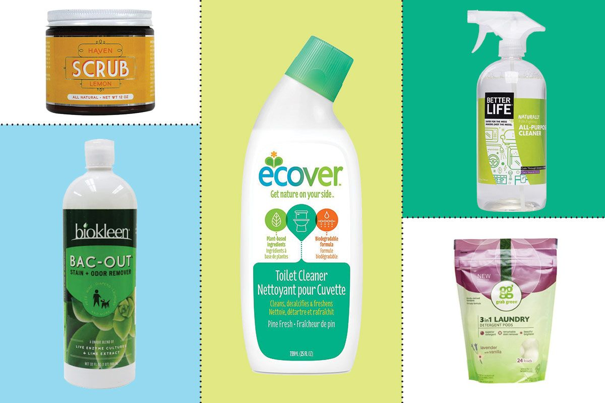 8 Best Natural & Organic Cleaning Products
