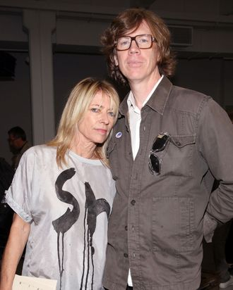 Kim Gordon and Thurston Moore.