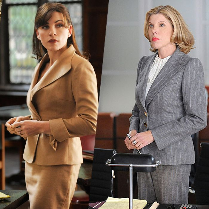 Kerry Washington on Scandal; Alicia Florrick and Christine Baranski on The Good Wife