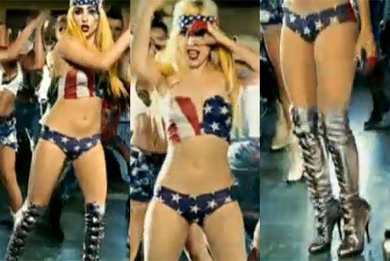 Sorry, Beyonce no panties oops