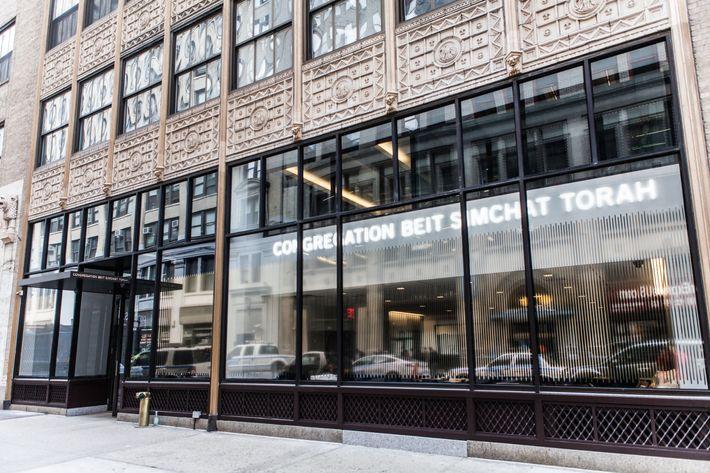 Gay lesbian synagogue new york