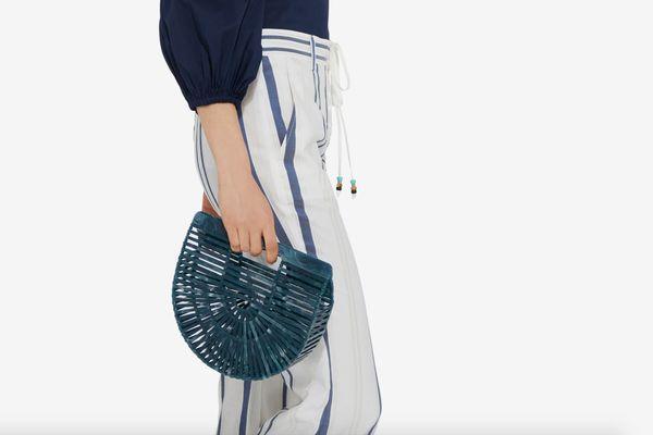Cult Gaia Mini Acrylic Ark Bag