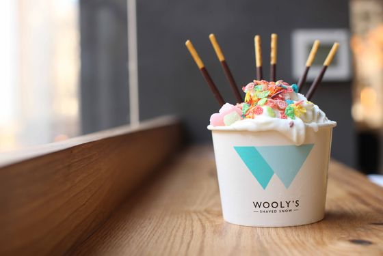 A sweet treat from Wolly's.