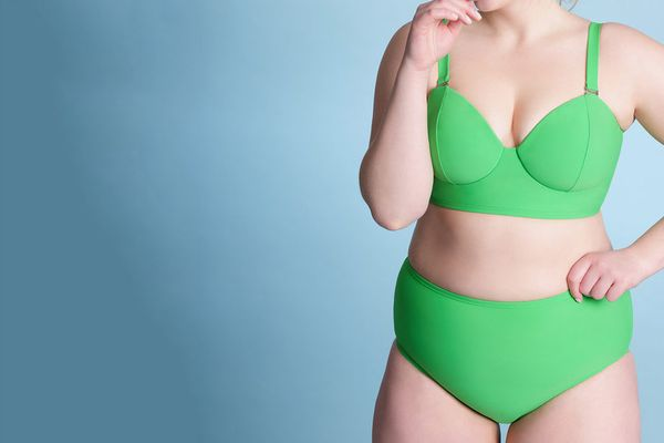 Eloquii Longline Bikini Top