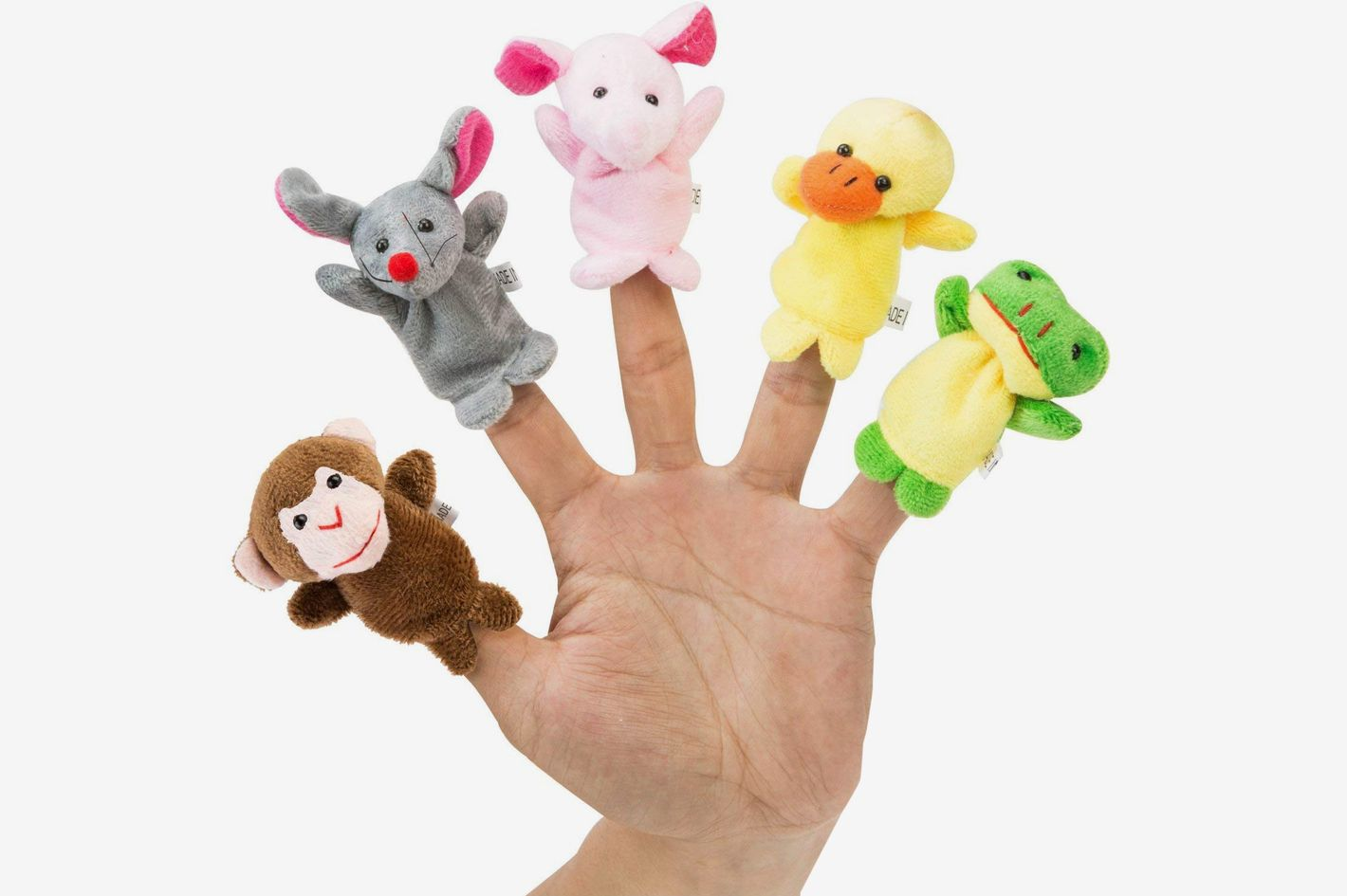 Jungle Finger Puppets - Best Gifts for Two Year Olds