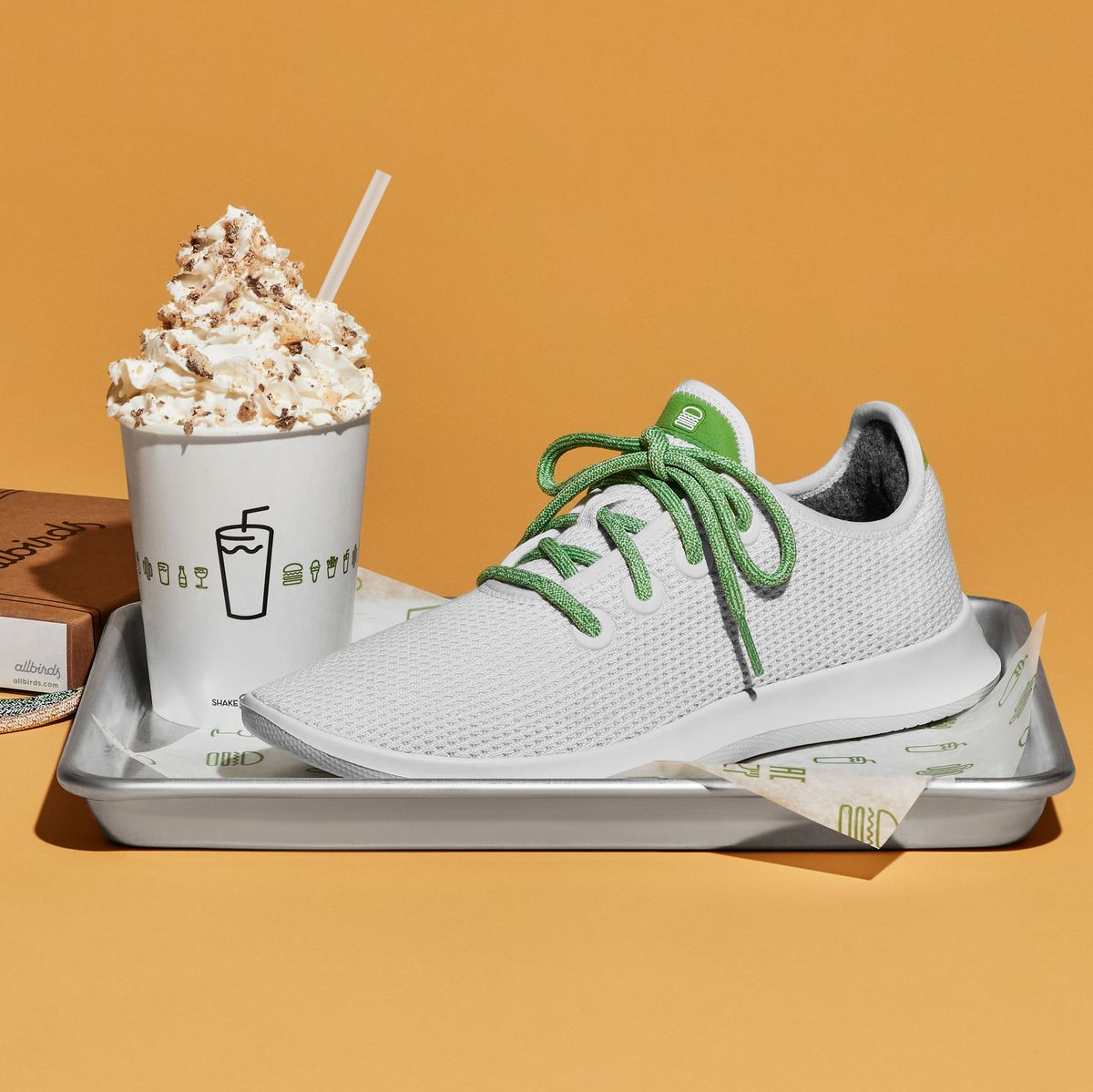 Shake Shack Unveil Exclusive Sneaker Collab