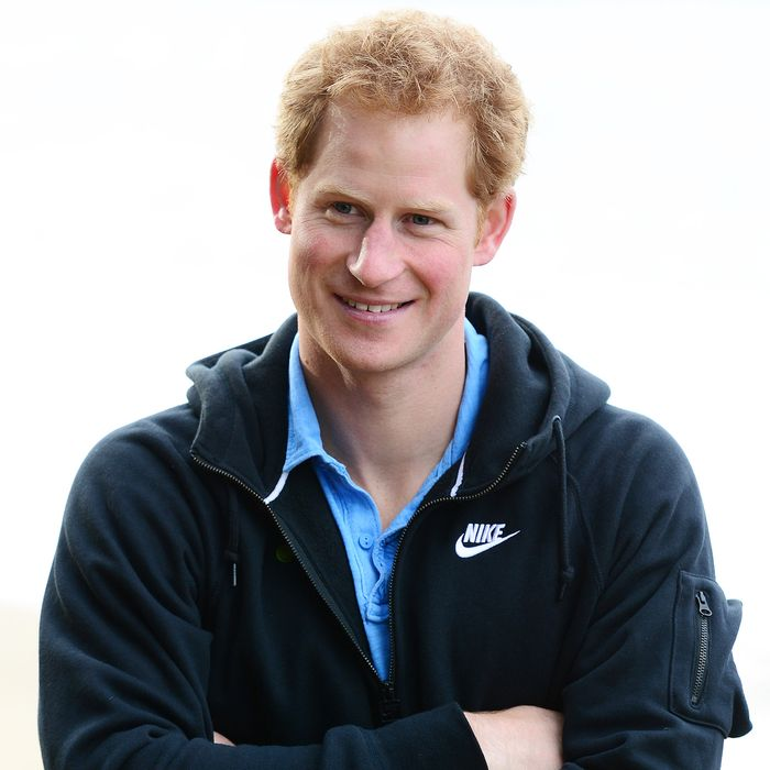 Prince Harry, possibly thinking about it right now.