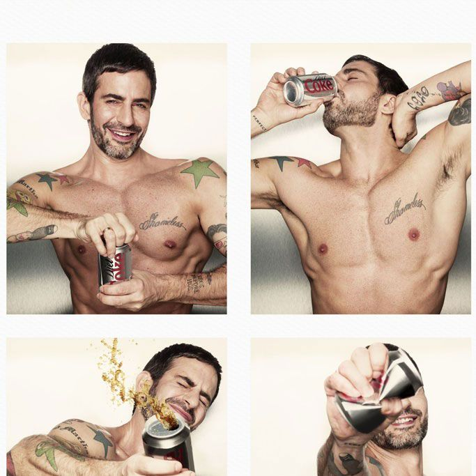Body by Diet Coke.