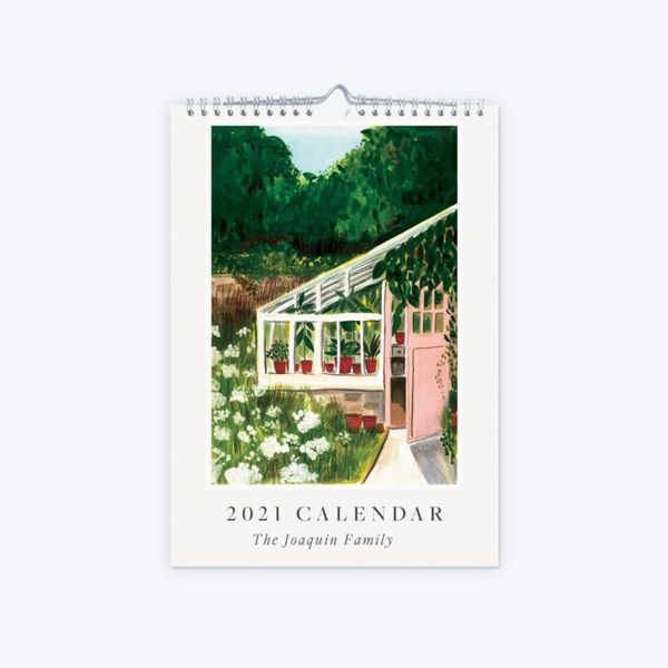 Papier 2021 Gardening Illustration Calendar