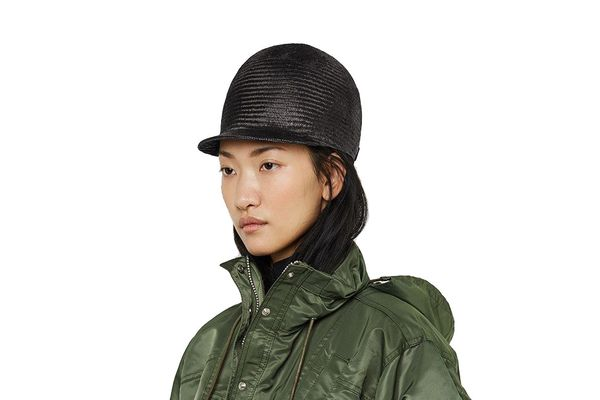 Sacai Straw Toque Hat