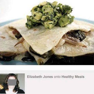 Same person, same veggie quesadilla.