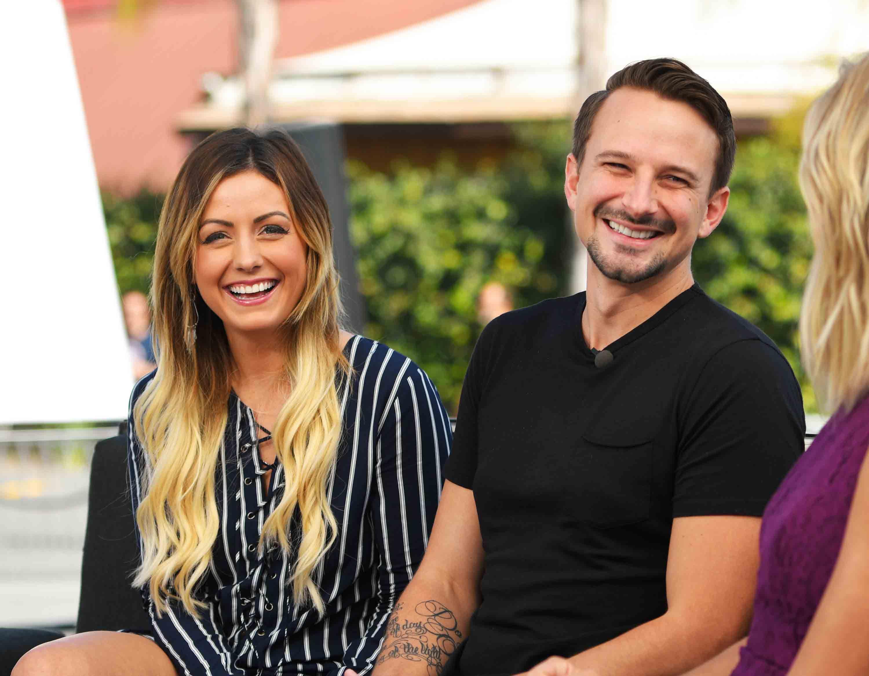 Carly And Evan Wedding.Bachelor In Paradise Stars Film Wedding Despite Scandal