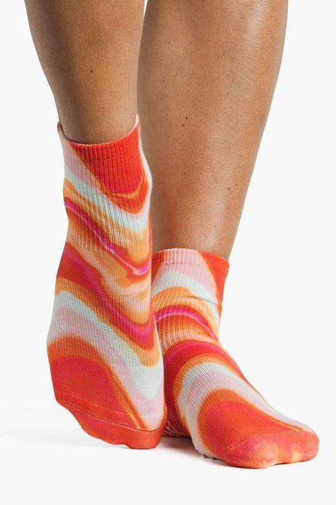 Mens athletic low cut Ankle sock Pink Flamingos Comfort Short Socks