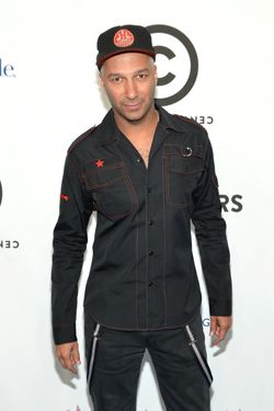 Musician Tom Morello attends Comedy Central's night of too many stars: America comes together for autism programs at The Beacon Theatre on October 13, 2012 in New York City.