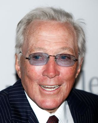Singer Andy Williams attends the 2009 GRAMMY Salute to Industry Icons honoring Clive Davis at the Beverly Hilton Hotel on February 7, 2009 in Bevery Hills, California.