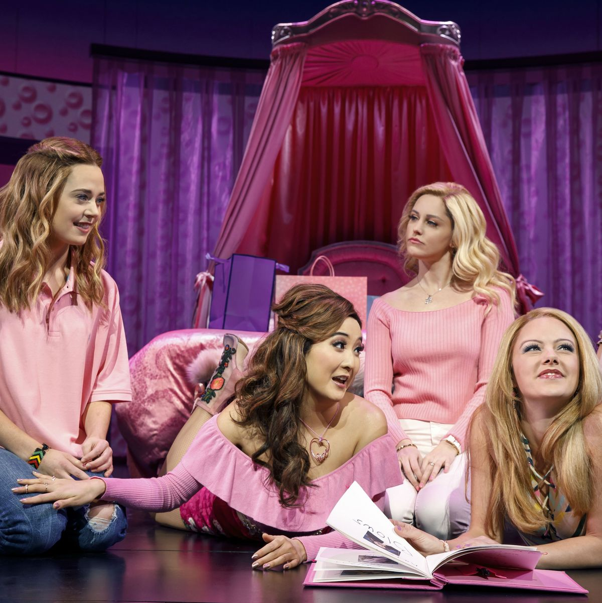 On Wednesdays We Do Two Shows Mean Girls Awarely Onstage Listen to gretchen wieners 1   soundcloud is an audio platform that lets you listen to what you love 10 followers. mean girls