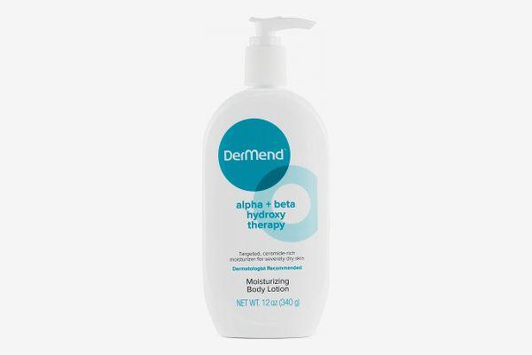 DerMend Alpha + Beta Hydroxy Moisturizer Glycolic Acid Skin Lotion