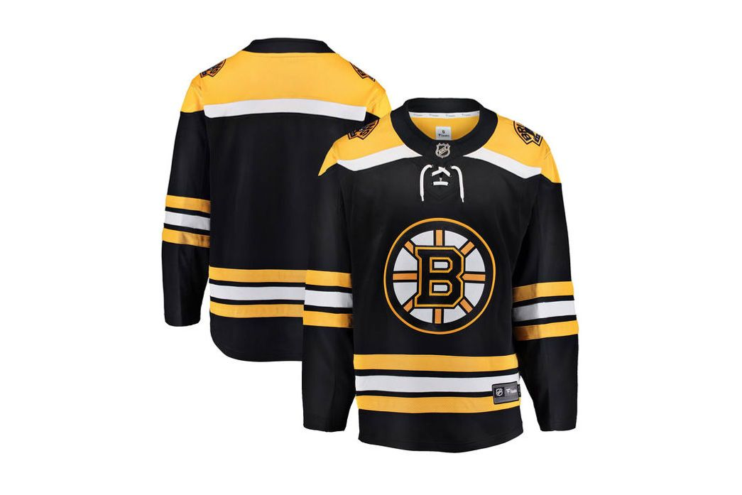 Youth Boston Bruins Fanatics Branded Black Breakaway Home Jersey