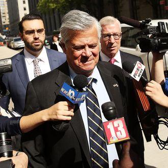 Former NY State Republican Senate Majority Leader Dean Skelos Sentenced In Corruption Trial