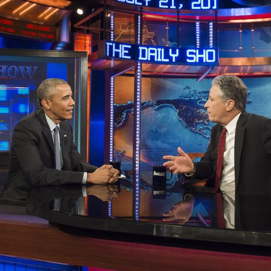 US-POLITICS-OBAMA-DAILY SHOW