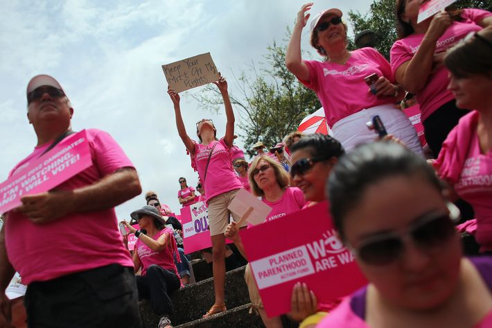 The Planned Parenthood Fight Republicans Don't Need But Can't Avoid