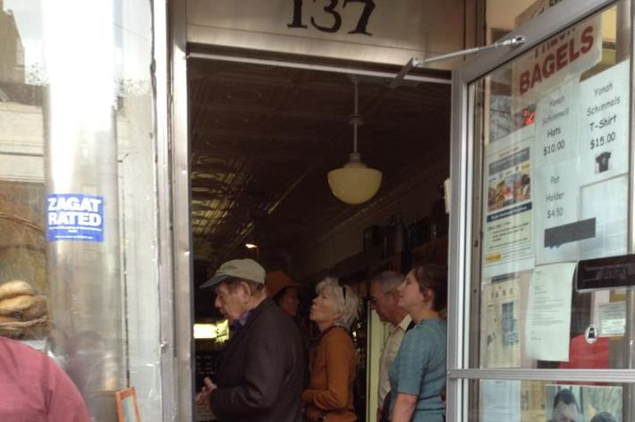 Why yes, that is Jerry Stiller ordering himself some knishes.