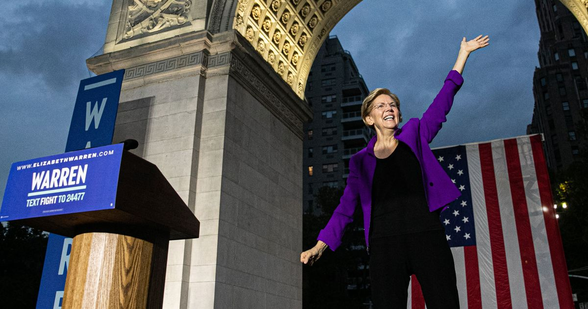 Elizabeth Warren Makes Her Bid for History