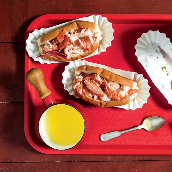 McLoons Lobster Shack Maine Lobster Roll Kit (4-Pack)