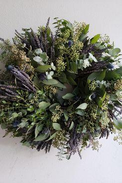 From The Garden Whsle Fresh Eucalyptus & Lavender Wreath