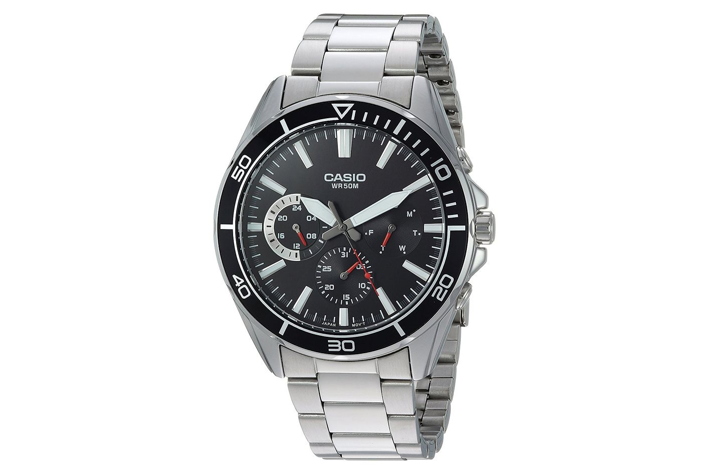 Casio Men's Sports' Quartz Stainless Steel Casual Watch