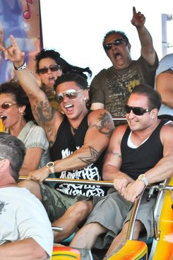 DJ Pauly D's mom and other family members joined him in Seaside Heights, NJ and went on rides in celebration of his birthday.<P>Pictured: Pauly Delvecchio and mother Donna Delvecchio<P><B>Ref: SPL295227  050711  </B><BR/>Picture by: Splash News<BR/></P><P><B>Splash News and Pictures</B><BR/>Los Angeles:310-821-2666<BR/>New York:212-619-2666<BR/>London:870-934-2666<BR/>photodesk@splashnews.com<BR/></P>