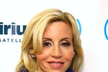 Camille Grammer visits SiriusXM Studios