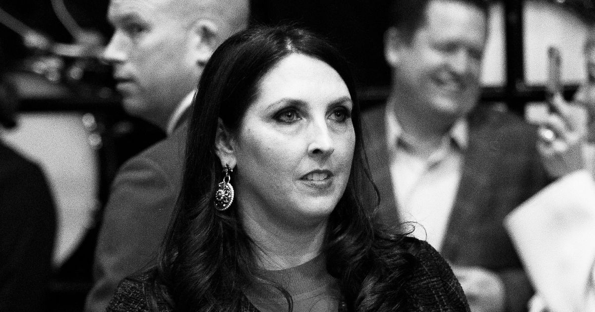 Trump Reportedly Asked Ronna Romney McDaniel to Drop Her Middle Name