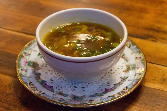 Egg-drop soup.