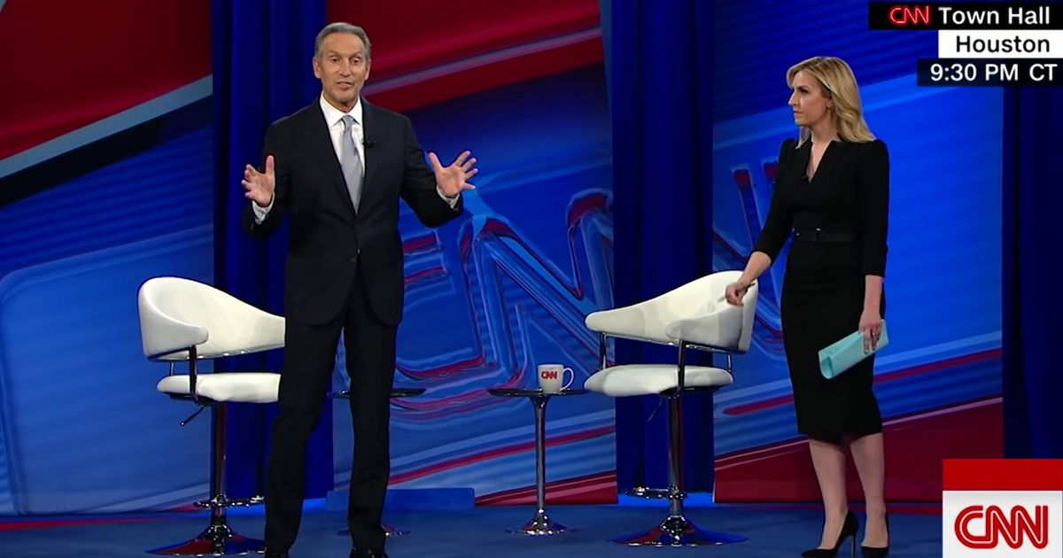 Howard Schultz doesn't 'see color ' History doesn't care