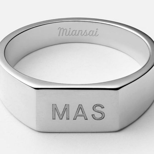 Miansai Geo Signet Ring