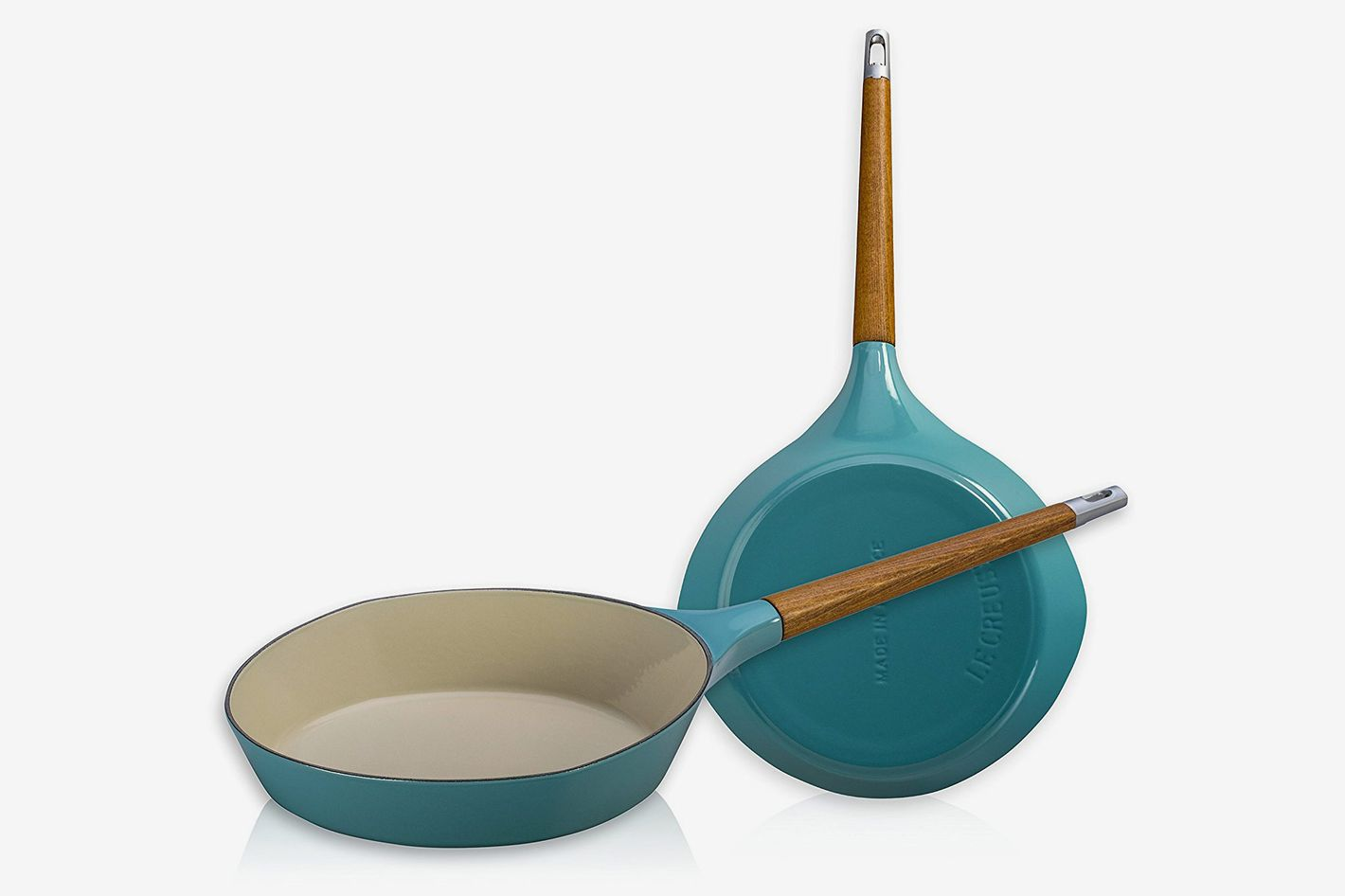 "Le Creuset L2081-284T Raymond Loewy Skillet, 11"", Turquoise"