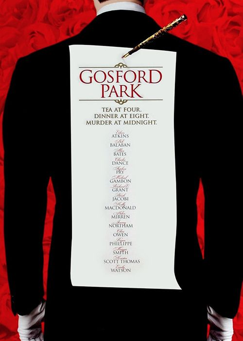 The original screenplay of <em>Gosford Park</em>