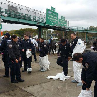 Manhattan Officer Shot