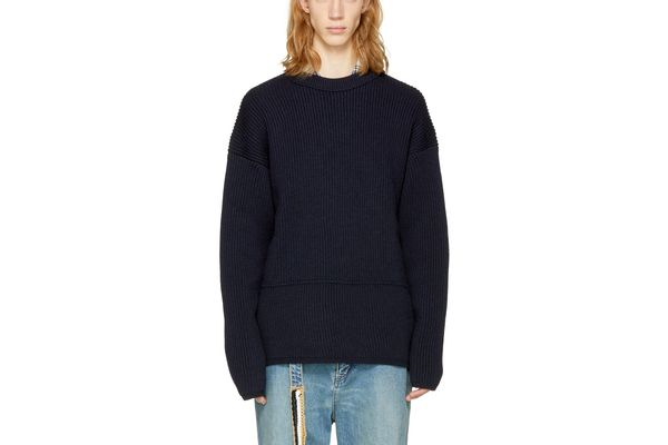 Acne Studios Navy Njal Sweater