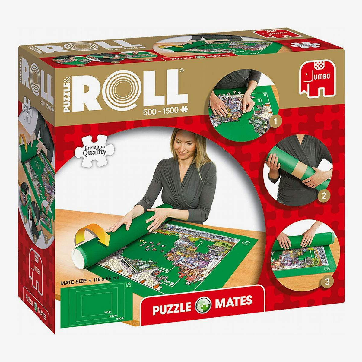 None Puzzle Roll Up Mat for 1500 Pieces