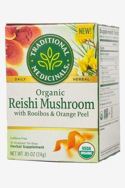 Traditional Medicinals Organic Reishi Mushroom with Rooibos & Orange Peel Tea