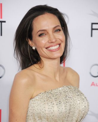 Super mom and actress Angelina Jolie.