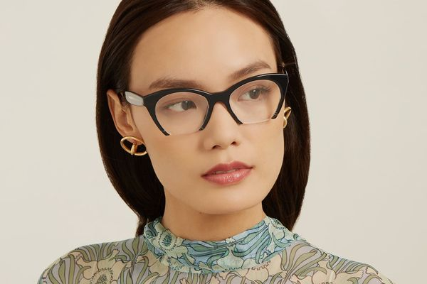 Miu Miu Cat-Eye Acetate Glasses